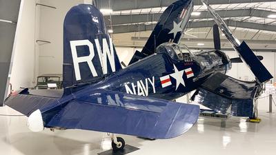 NX43RW - Vought F4U-5 Corsair - Private
