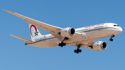 A picture of CNRGS - Boeing 7878 Dreamliner - Royal Air Maroc - © AirlinerSpotter