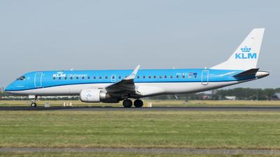 PH-EZL - Embraer 190-100STD - KLM Cityhopper