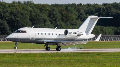 OK-WAY - Bombardier CL-600-2B16 Challenger 605 - Eclair Aviation