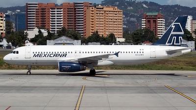N332MX - Airbus A320-231 - Mexicana