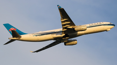 A picture of B1063 - Airbus A330343 - China Southern Airlines - © Jeppesen_Tu