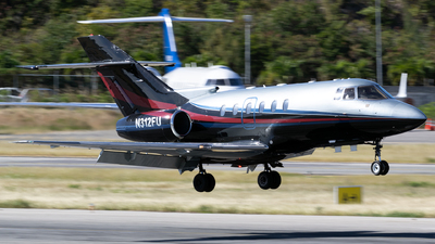 N312FU - Hawker Beechcraft 800XP - IBC Airways