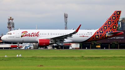 PK-LUI - Airbus A320-214 - Batik Air