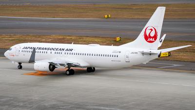 JA01RK - Boeing 737-8Q3 - Japan TransOcean Air (JTA)