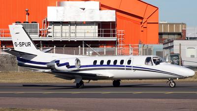 G-SPUR - Cessna 550 Citation II - London Executive Aviation