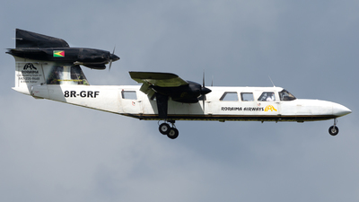 A picture of 8RGRF - BrittenNorman BN2A MkIII2 Trislander -  - © VALR Planespotting