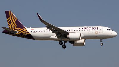 VT-TNR - Airbus A320-251N - Vistara