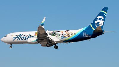 N589AS - Boeing 737-890 - Alaska Airlines