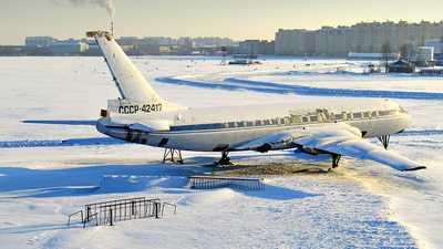 CCCP-42417 - Tupolev Tu-104 - Aeroflot
