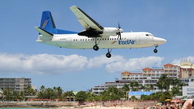 PJ-KVN - Fokker 50 - Insel Air