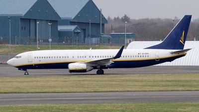 EI-EPG - Boeing 737-8AS - Ryanair