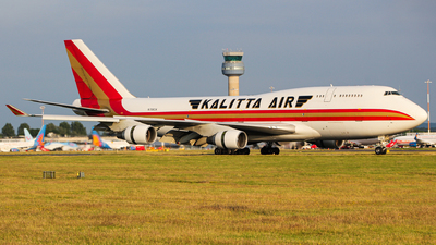 A picture of N708CK - Boeing 7474B5(BCF) - Kalitta Air - © Jamie PD