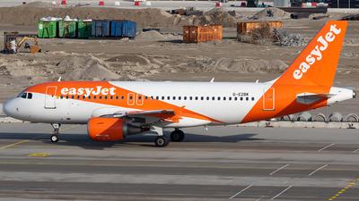 G-EZBK - Airbus A319-111 - easyJet