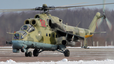 RF-90823 - Mil Mi-24P Hind F - Russia - Air Force