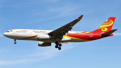 A picture of B6519 - Airbus A330243 - Hainan Airlines - © ShepherdWang