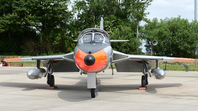 A picture of GBWGL - Hawker Hunter T8C - [41H695946] - © Stefan Kuhn