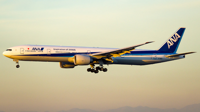 A picture of JA792A - Boeing 777381(ER) - All Nippon Airways - © Martin Cheung