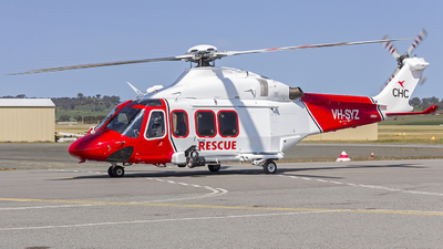 A picture of VHSYZ - AgustaWestland AW139 - CHC Helicopters Australia - © Robert Myers