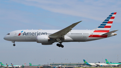 A picture of N810AN - Boeing 7878 Dreamliner - American Airlines - © Pj Mackey