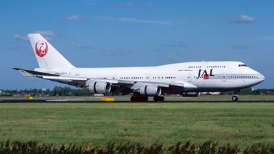 JA8074 - Boeing 747-446 - Japan Airlines (JAL)
