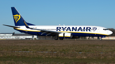 A picture of EIDYD - Boeing 7378AS - Ryanair - © PAUL LINK