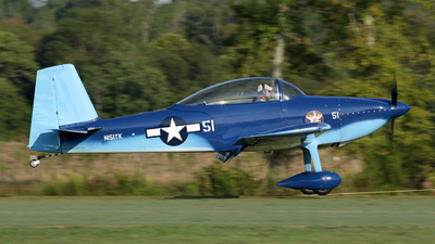 N151TK - Vans RV-8 - Private