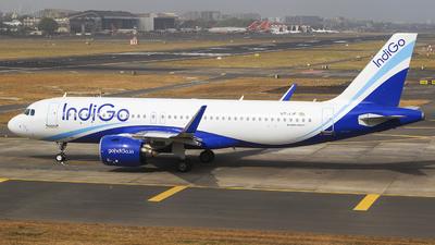 VT-IJF - Airbus A320-271N - IndiGo Airlines