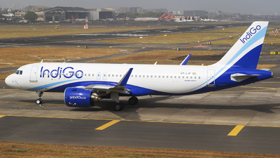 A picture of VTIJF - Airbus A320271N - IndiGo - © Akshay M