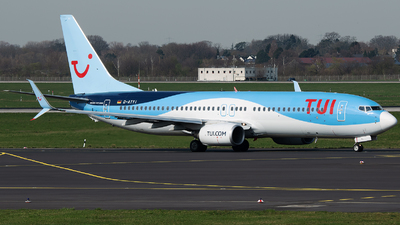 A picture of DATYI - Boeing 7378K5 - TUI fly - © Stefan Bayer