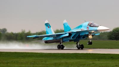 RF-95848 - Sukhoi Su-34 Fullback - Russia - Air Force