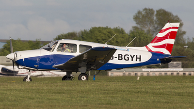 A picture of GBGYH - Piper PA28161 - [287916313] - © Rolf Jonsen