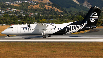 ZK-NFB - Bombardier Dash 8-311 - Air New Zealand Link (Air Nelson)
