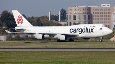 LX-DCV - Boeing 747-4B5(BCF) - Cargolux Airlines International