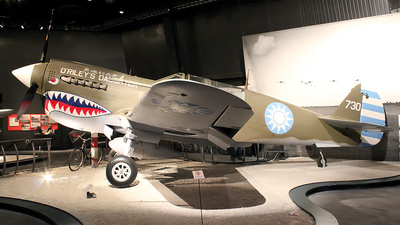 N10626 - Curtiss P-40N Warhawk - United States - US Air Force (USAF)