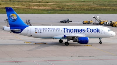 OO-TCI - Airbus A320-214 - Thomas Cook Airlines Belgium