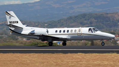 N118RW - Cessna 560 Citation Ultra - Private