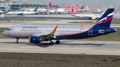 VP-BJY - Airbus A320-214 - Aeroflot