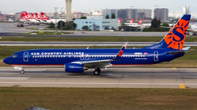 TC-JGM - Boeing 737-8F2 - Sun Country Airlines