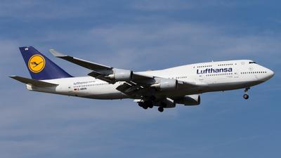 D-ABVN - Boeing 747-430 - Lufthansa