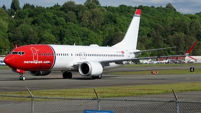 N60697 - Boeing 737-8 MAX - Norwegian