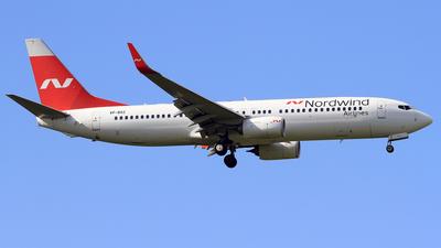 A picture of VPBSZ - Boeing 7378ME - Nordwind Airlines - © Eddie Heisterkamp