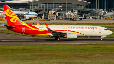 B-1727 - Boeing 737-84P - Hainan Airlines