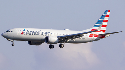A picture of N338ST - Boeing 737 MAX 8 - American Airlines - © Nelson Mejia