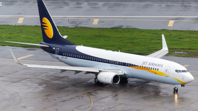 VT-JFT - Boeing 737-8AL - Jet Airways