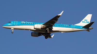 A picture of PHEZI - Embraer E190STD - KLM - © Paolo Maggiolo