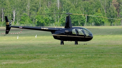 D-HFCY - Robinson R44 Raven - Private