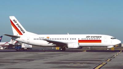 EC-GUO - Boeing 737-4Q8 - Air Europa