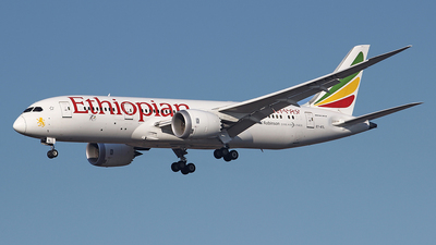 A picture of ETATL - Boeing 7878 Dreamliner - Ethiopian Airlines - © Airyura