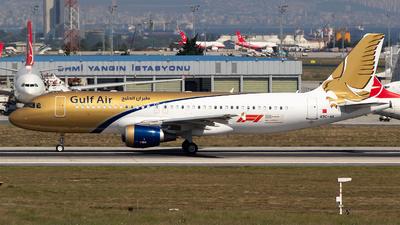A9C-AK - Airbus A320-214 - Gulf Air